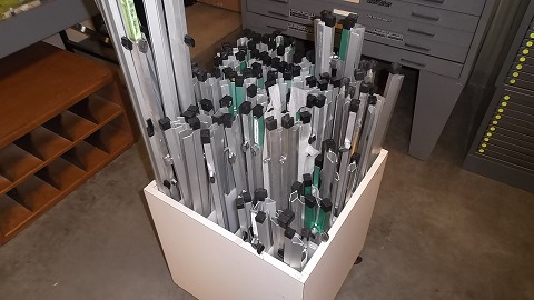Used flat files roll files plan racks hopper 39 s for Architectural plan storage